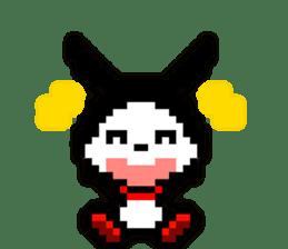 rabbit-hareconi(Pixelated version) sticker #241717
