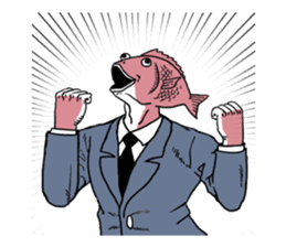 Business Fish sticker #241820