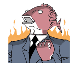 Business Fish sticker #241823
