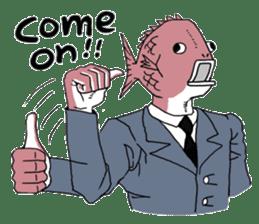 Business Fish sticker #241845