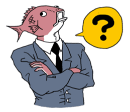 Business Fish sticker #241847