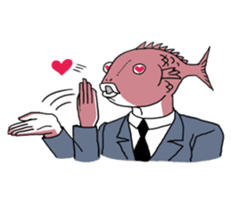 Business Fish sticker #241849