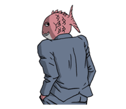 Business Fish sticker #241851