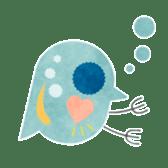 MIZZY the Water Flea sticker #242022