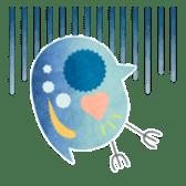 MIZZY the Water Flea sticker #242023