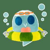 MIZZY the Water Flea sticker #242042