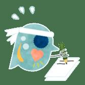 MIZZY the Water Flea sticker #242054