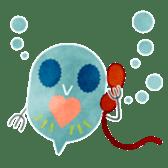 MIZZY the Water Flea sticker #242055