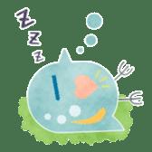 MIZZY the Water Flea sticker #242056