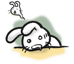 Outlaw rabbit sticker #242218