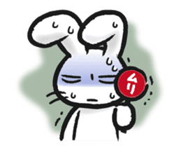 Outlaw rabbit sticker #242227