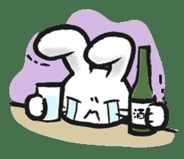 Outlaw rabbit sticker #242228