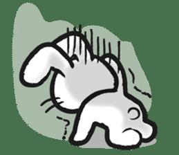 Outlaw rabbit sticker #242229
