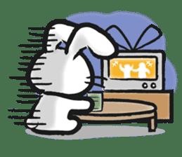 Outlaw rabbit sticker #242231