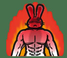 Outlaw rabbit sticker #242250