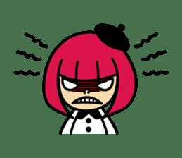 Grumpy Artist sticker #242302