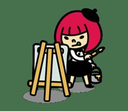 Grumpy Artist sticker #242303
