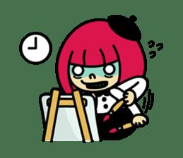 Grumpy Artist sticker #242304