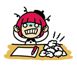Grumpy Artist sticker #242305