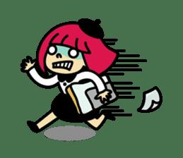 Grumpy Artist sticker #242308