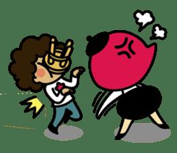 Grumpy Artist sticker #242333