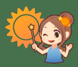 Weather girl Teruko sticker #242937