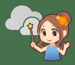 Weather girl Teruko sticker #242938