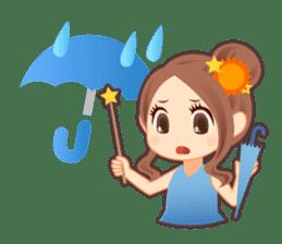 Weather girl Teruko sticker #242939