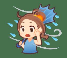 Weather girl Teruko sticker #242943