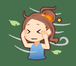 Weather girl Teruko sticker #242944