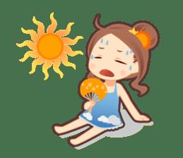 Weather girl Teruko sticker #242947