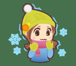 Weather girl Teruko sticker #242948