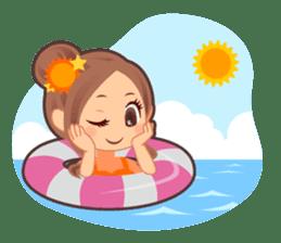 Weather girl Teruko sticker #242950