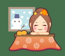 Weather girl Teruko sticker #242952