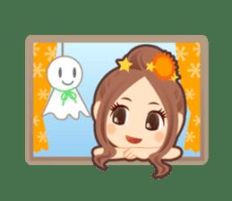 Weather girl Teruko sticker #242953