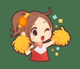 Weather girl Teruko sticker #242955