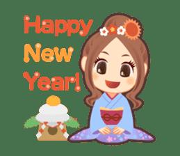 Weather girl Teruko sticker #242959