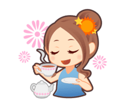 Weather girl Teruko sticker #242962