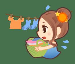 Weather girl Teruko sticker #242963