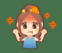 Weather girl Teruko sticker #242966