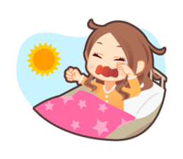 Weather girl Teruko sticker #242971