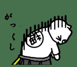 Samurai cat nekobee sticker #243224