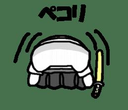 Samurai cat nekobee sticker #243232