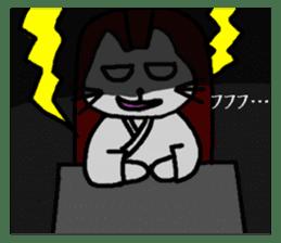 Samurai cat nekobee sticker #243255