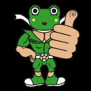 สติ๊กเกอร์ไลน์ frogman mr,gero