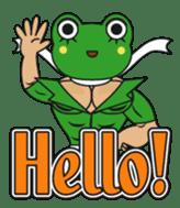 frogman mr,gero sticker #243697