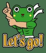 frogman mr,gero sticker #243704