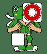 frogman mr,gero sticker #243711