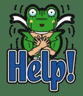 frogman mr,gero sticker #243713