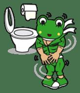 frogman mr,gero sticker #243717